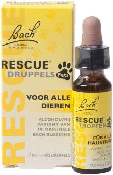 Bach Rescue Pets druppels